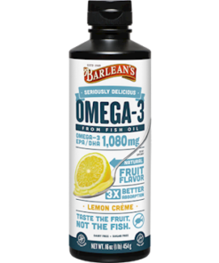 Omega-3 Lemon Creme from Barlean's Organic Oils