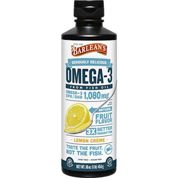 Omega-3 Lemon Creme from Barlean's Organic Oils