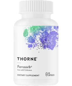 Ferrasorb, 60 Capsules from Thorne Research