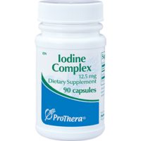 Iodine Complex, 12.5 mg, 90 Capsules from ProThera