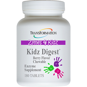 Kidz Digest Chewable, 180 Chewable Tablets from Transformation Enzymes