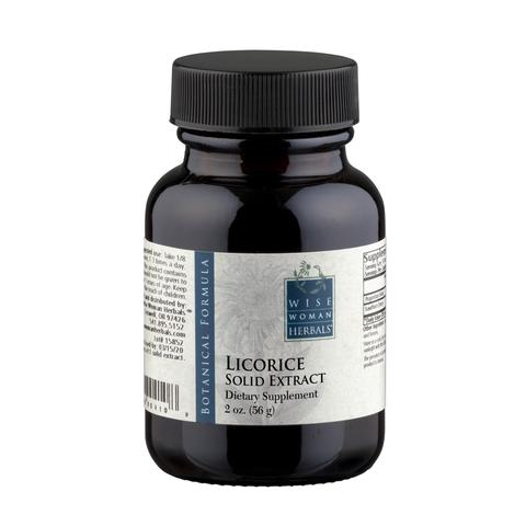 Licorice Solid Extract, 2 oz from Wise Woman Herbals