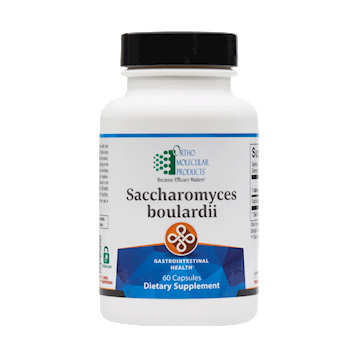 Saccharomyces Boulardii, 60 Capsules from OrthoMoleclar Products