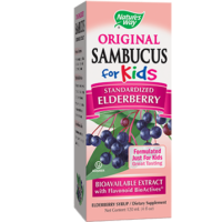 Sambucus for Kids, Elderberry Flavor, 4 fl oz from Nature's Way
