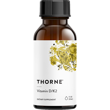 Vitamin D/K2, 1 fl oz by Thorne Research