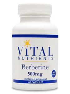 Vital Nutrients, Berberine, 500 mg, 60 Capsules