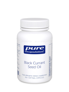 Pure Encapuslations, Black Currant Seed Oil, 100 Capsules