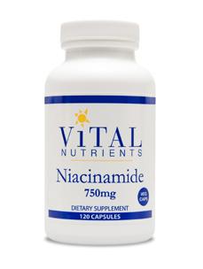 Vital Nutrients, Niacinamide, 750 mg, 60 Capsules