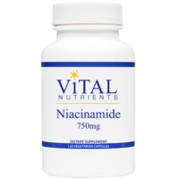 Niacinamide 750 mg, 60 Capsules from Integrative Therapeutics