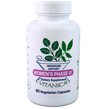 Women's Phase II, 90 Capsules from Vitanica