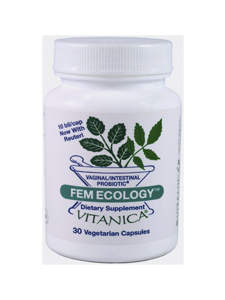 FemEcology, 30 Vegetarian Capsules_Vitanica