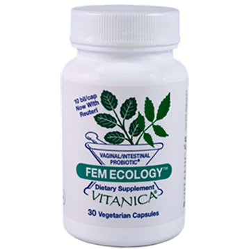 FemEcology, 30 Capsules from Vitanica