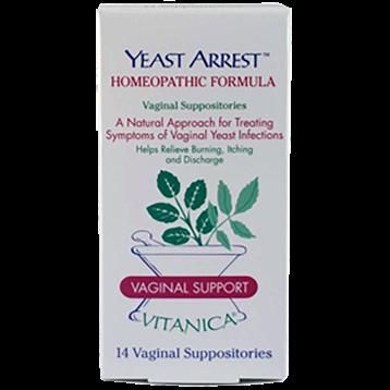 Yeast Arrest, 14 Suppositories from Vitanica