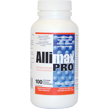AlliMaxPro, 450 mg, 100 Capsules from AlliMax International