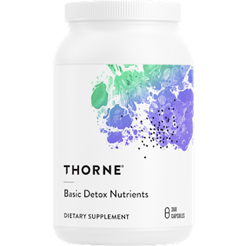 Basic Detox Nutrients, 360 Capsules by Thorne Research