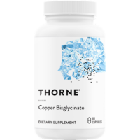 Copper Bisglycinate, 60 Capsules by Thorne Research
