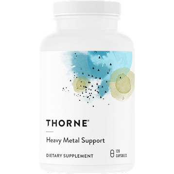 Heavy Metal Support, 120 Capsules by Thorne Research
