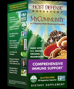 MyCommunity, 60 Vegetarian Capsules from Host Defense
