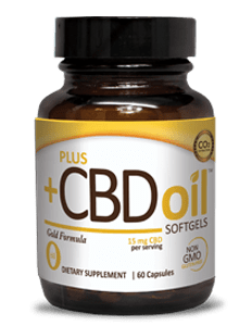 PlusCBD Oil, 60 Softgels by PlusCBD Oil