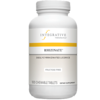Rhizinate DGL Fructose Free, 100 Chewable Tablets from Integrative Therapeutics