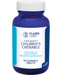 Ther-Biotic Children's Chewable, 60 Tablets from Klaire Labs