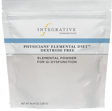 Physicians' Elemental Diet, Dextrose Free from Integrative Therapeutics