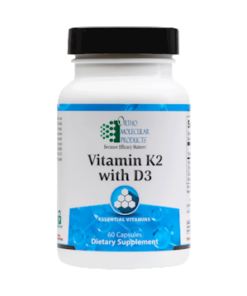 Vitamin K2 with D3_60 Capsules_Orthomolecular Products