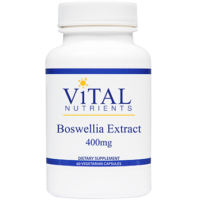 Boswellia Extract 400 mg, 60 Vegetarian Capsules from Vital Nutrients