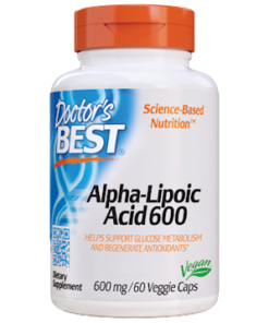 Alpha Lipoic Acid, 600 MG, 60 Vegetarian Capsules from Doctor's Best