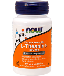 L-Theanine, 200 MG, 60 Vegetarian Capsules from Now Foods