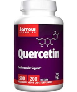 Quercetin, 500 MG, 200 Vegetarian Capsules from Jarrow Formulas