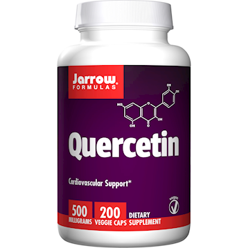 Quercetin, 500 MG, 200 Vegetarian Capsules from Jarrow Formulas