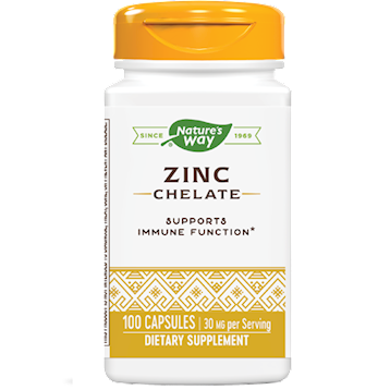 Zinc Chelate, 100 Capsules from Nature's Way