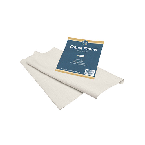 Cotton Flannel for Castor Oil_1 Pack_Baar Products